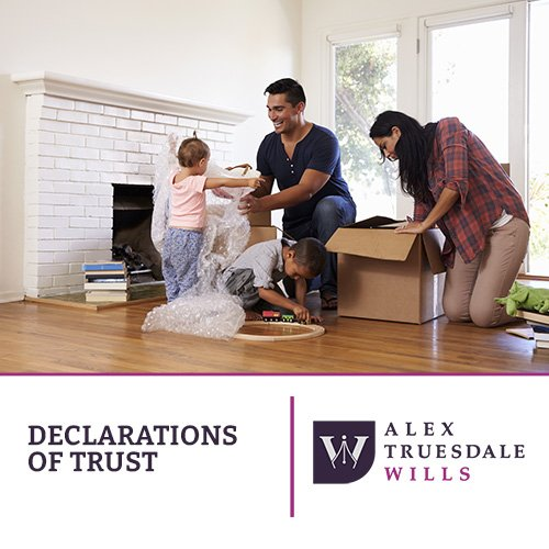 Declarations of Trust Alex Truesdale Wills In Cobham Surrey